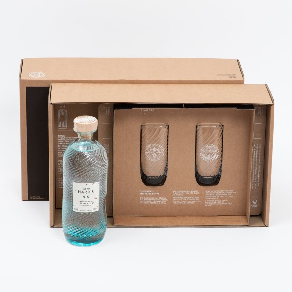 Isle of Harris Highball Serve Geschenk Box 0,7l 45 % Vol
