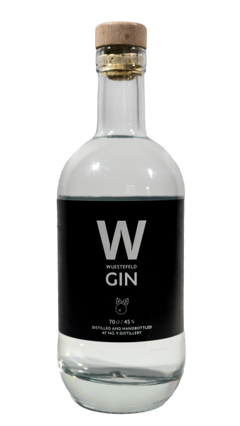 The Nine Springs DRY GIN Wuestefeld 0,7l 45 %Vol