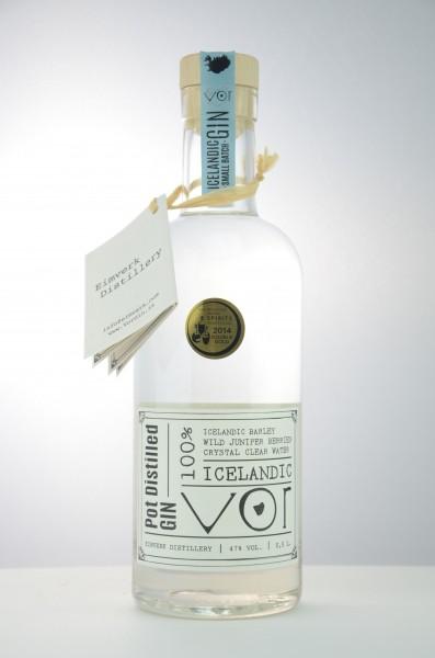 VOR Gin - Icelandic Gin 47 %Vol 0,5 l