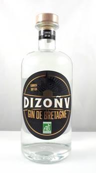 DIZONV, Gin de Bretagne, 40 %