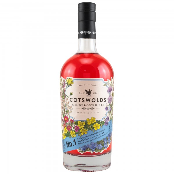 Cotswolds Wildflower Gin 41,7 %Vol 0,7 l England