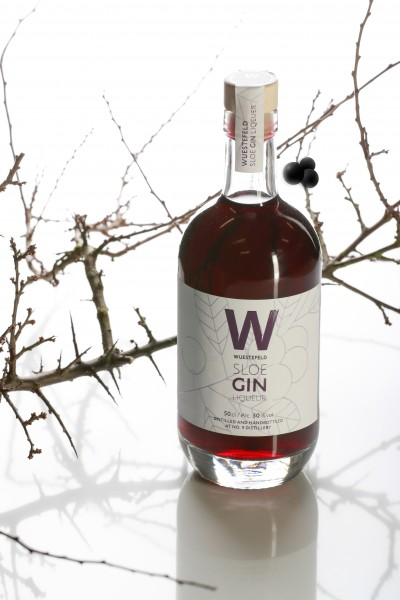 The Nine Springs Sloe Gin Schlehenlikör 0,5 l 30 %Vol