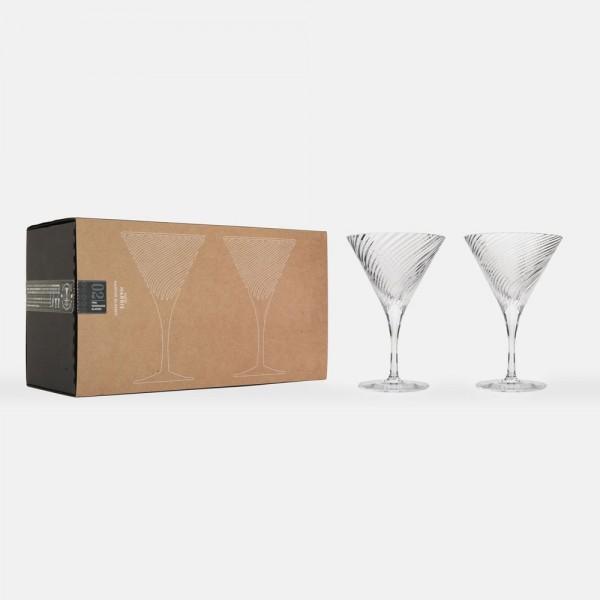 Isle of Harris Martini Glas Geschenkset